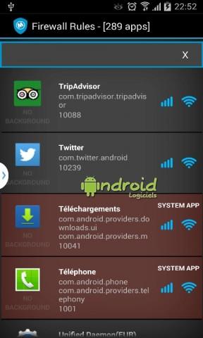 application mobile communiquer avec un serveur