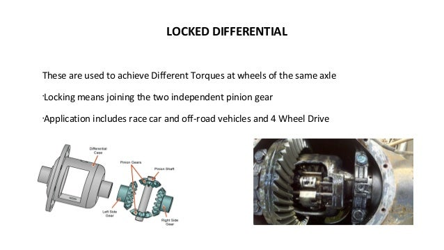 application of differential wheel and axle