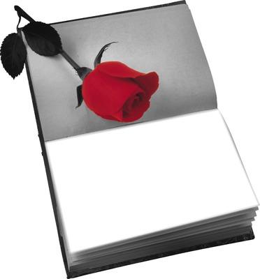 application photo noir blanc rouge