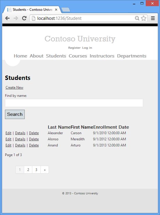 asp.net default application page