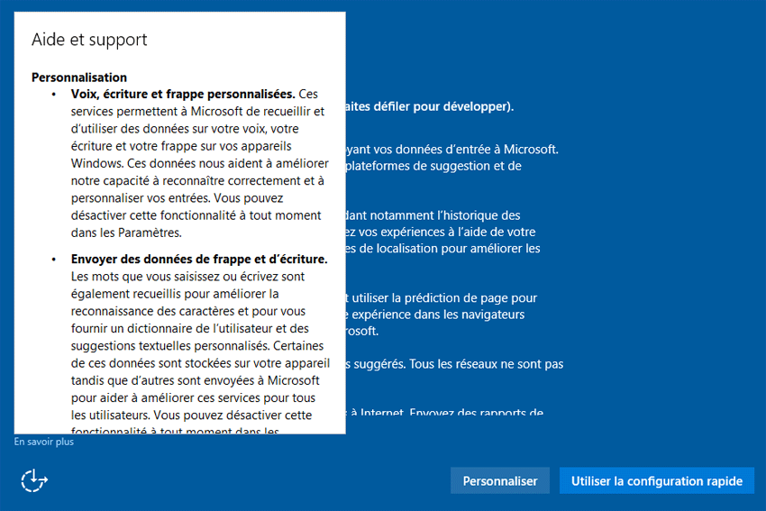 augmenter son application windows 10