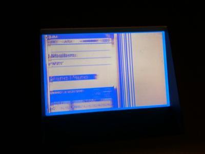 an application is not responding black screen