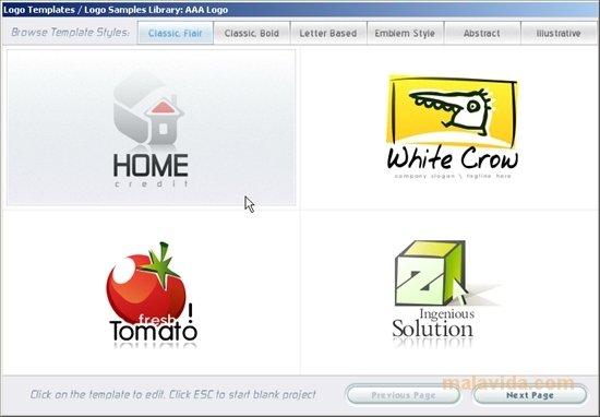application iphone pour creer des logos