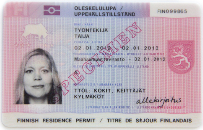 permanent residency application baby id