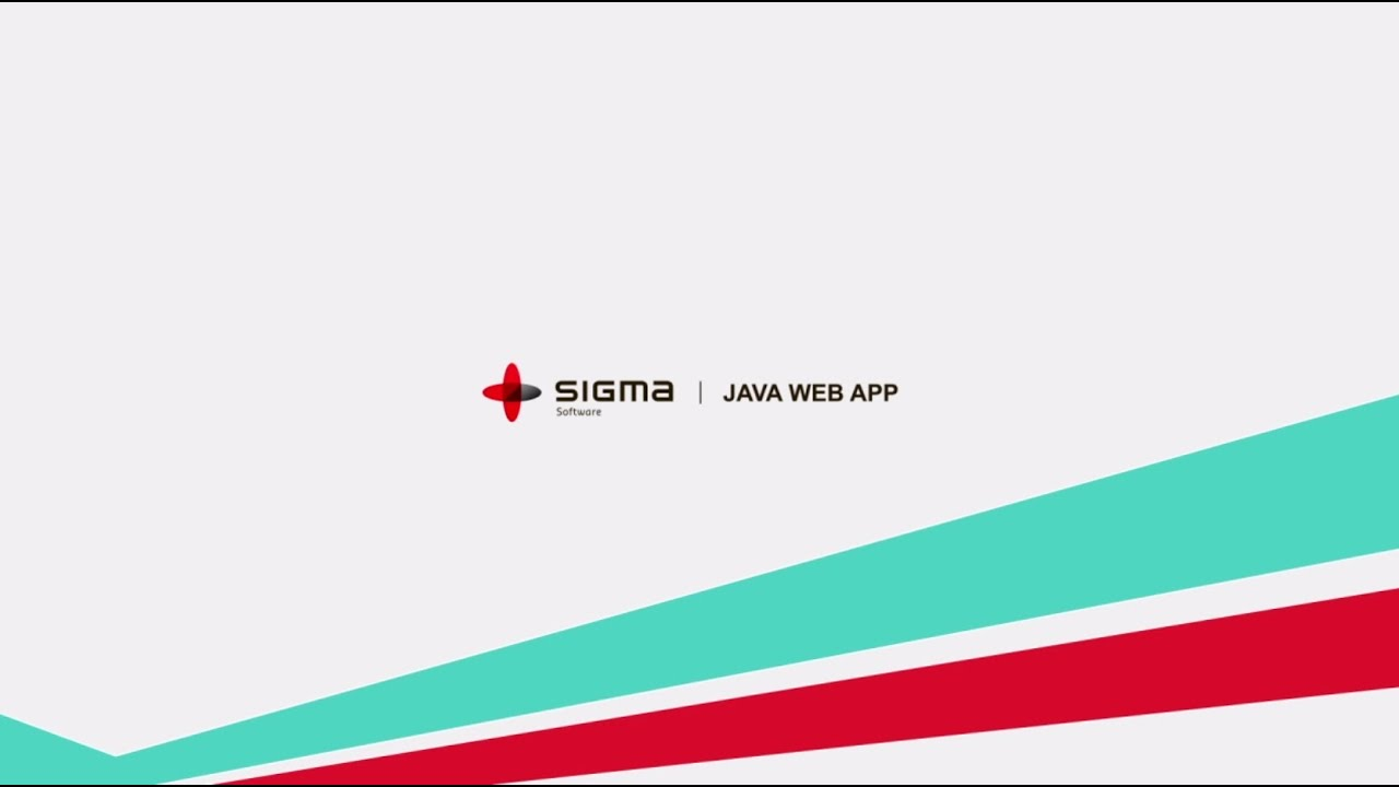 basic structure of a java web application