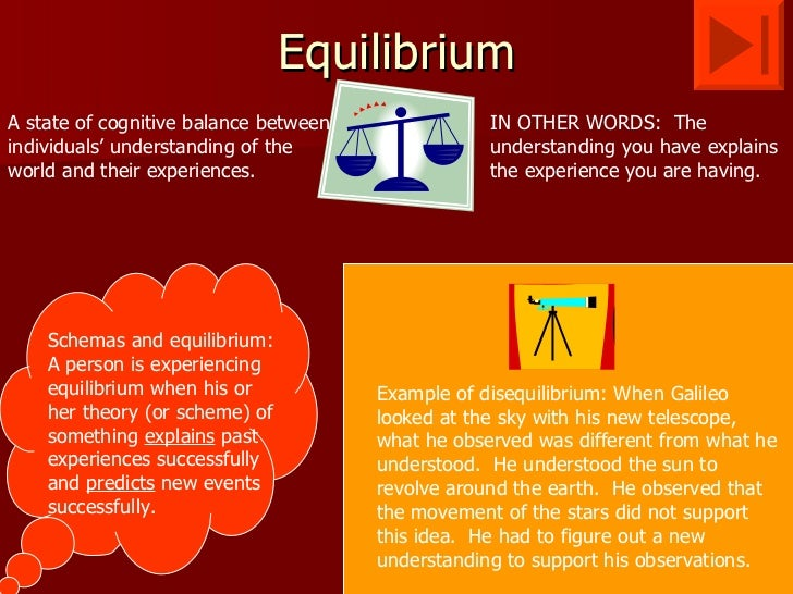 examples of equilibrium in real life application