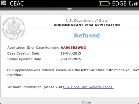 can a rejected express entry application be rejected