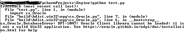 is not a valid win32 application python