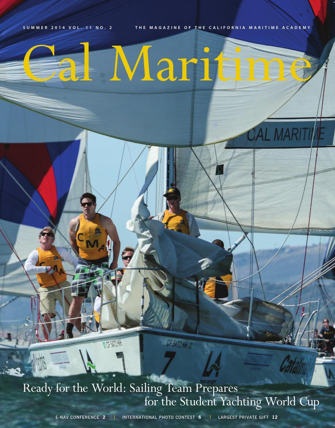 cal maritime academy international application