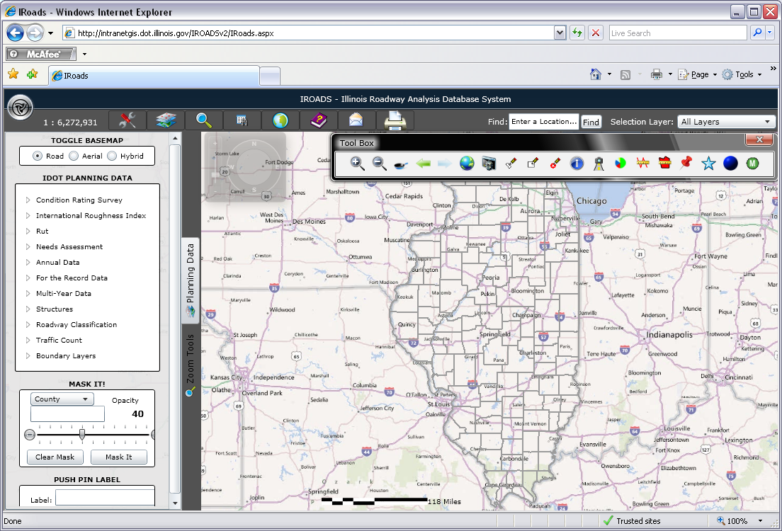 what is gis infrastructure applications