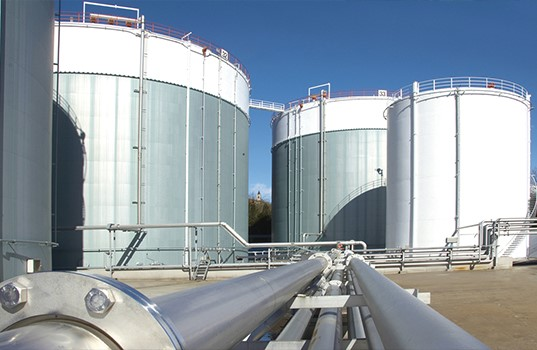 natural gas set up on many applications