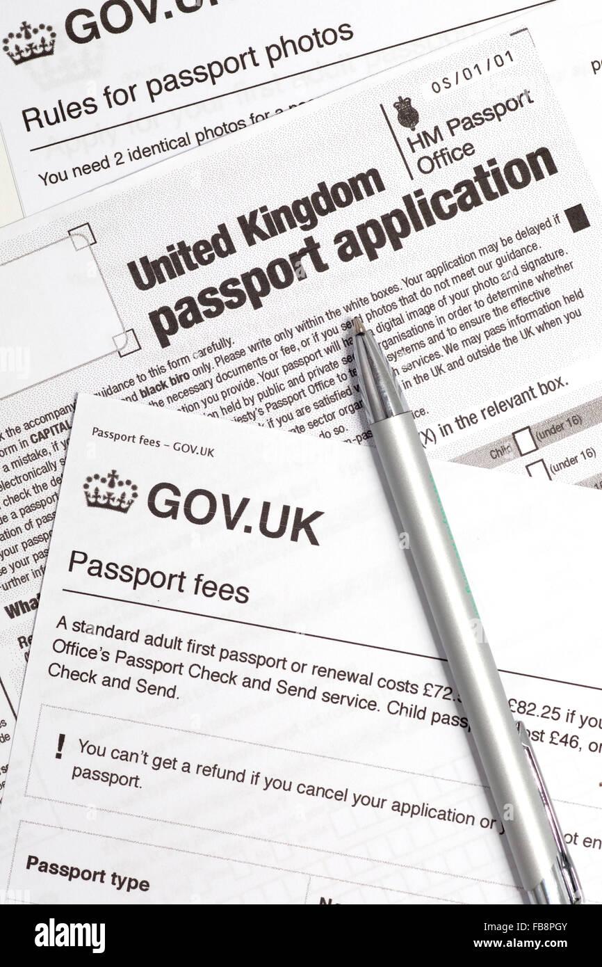 german passport application form uk
