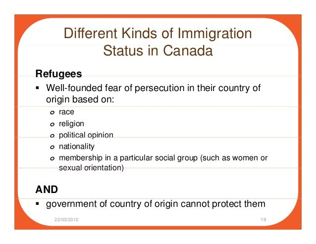 family immigration application status in canada
