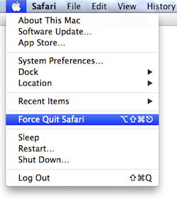 force quit applications macbook air