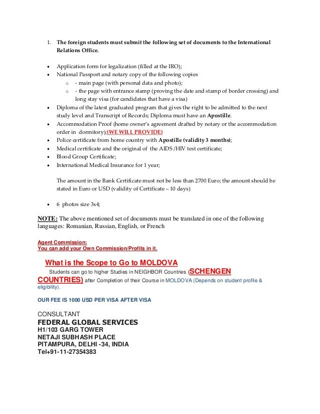 french visa application document needed for temporary resident