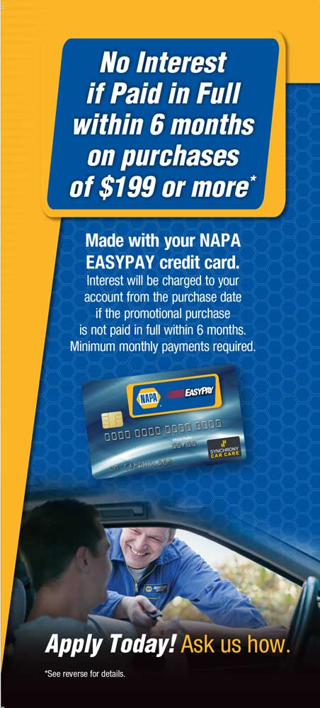 go easy credit card application