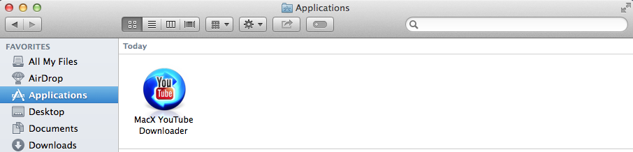how do you find a application folder in mac