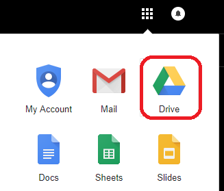 how to change default google drive application
