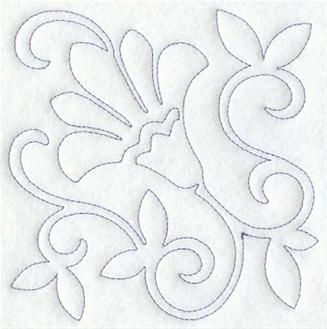 how to make tambour applique embroidery cut