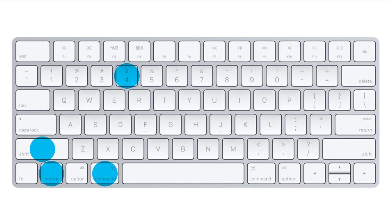keyboard shortcut to open application mac