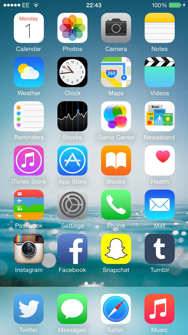 les plus belles applications iphone