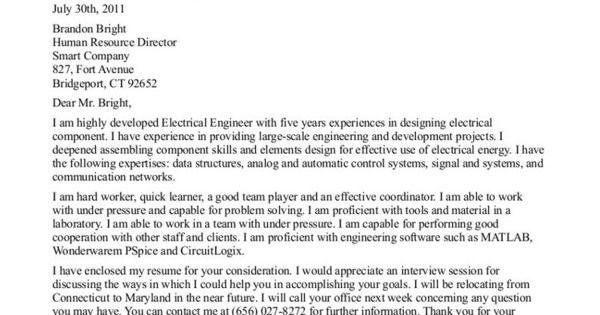 letter of application for mechanic