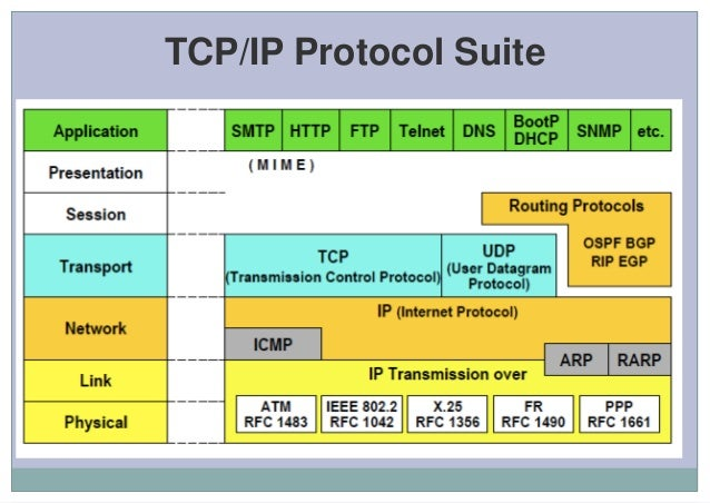 protocol used by ping application