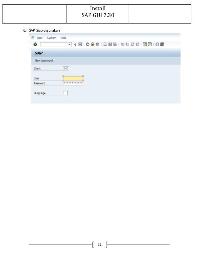 sap gui download to application server