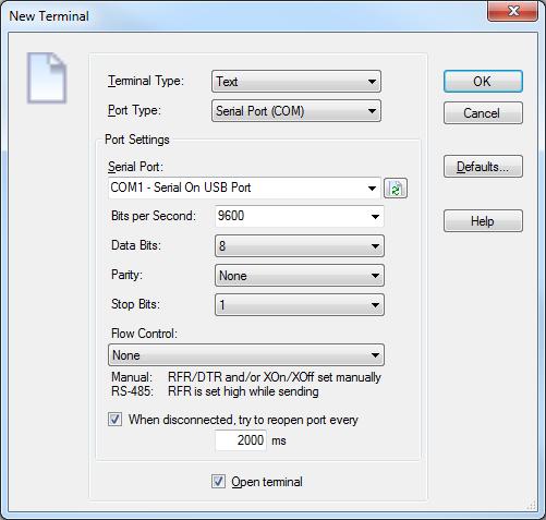 serial port communication in asp net web application