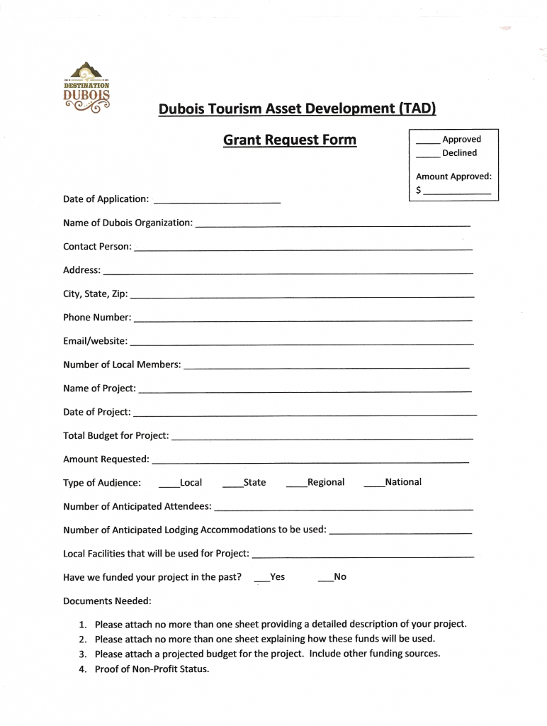 to submit an application for a grant