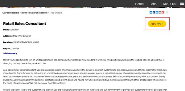walmart job application online link